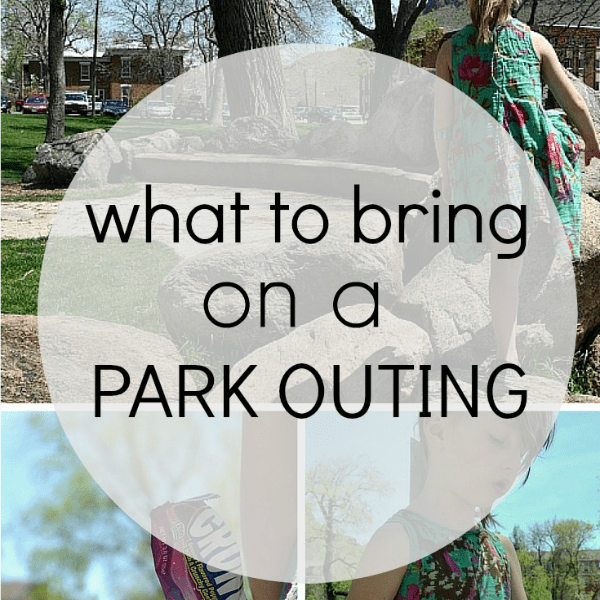 What to Bring on A Park Outing
