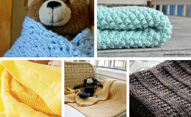 10 Adorable Baby Blanket Knitting Patterns