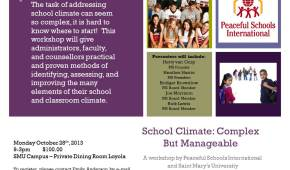 School Climate Flyer (1)