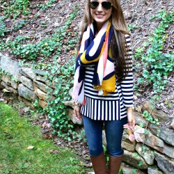Fun Fashion Friday: Scarves and Puppies