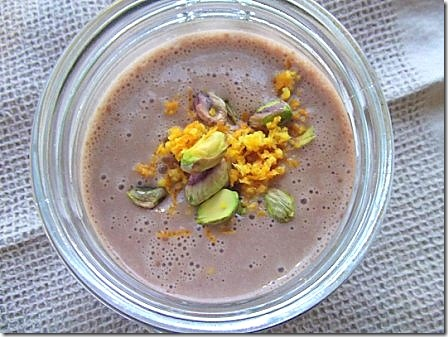 Chocolate Orange and Pistachio Smoothie (5)