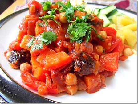 Chickpea Tagine with Almond Millet (42)