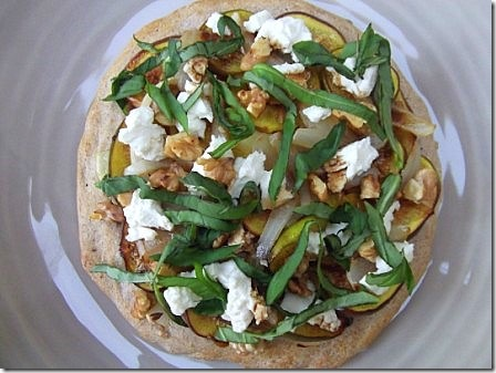 Fig Basil and Goats Cheese Pizza (14)