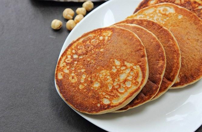 Pear Hazelnut Gluten Free Pancakes (2)
