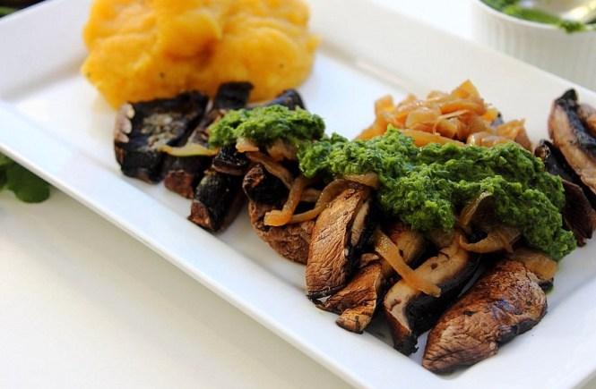 Chimichurri Flank Portobello Steaks (23)