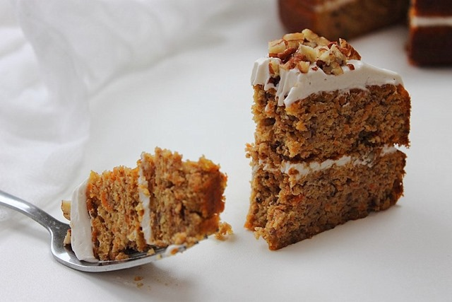Third Time Lucky Carrot Cake