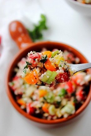 Summer Strawberry Grain Free Tabbouleh (20)