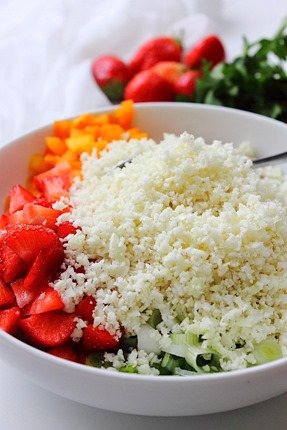 Summer Strawberry Grain Free Tabbouleh (5)