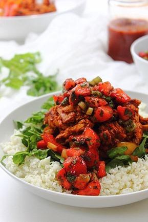 Enchilada Chicken Bowl (23)