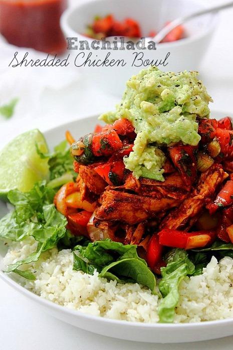 Enchilada Chicken Bowl (34) Title