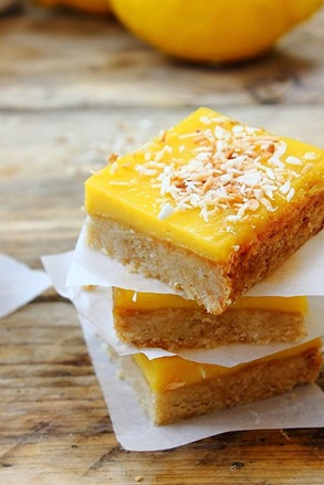 Lemon Curd Shortbread Squares (34)