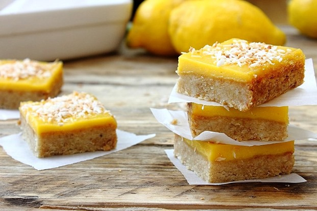 Lemon Curd Shortbread Squares (35)