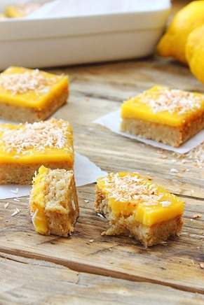 Lemon Curd Shortbread Squares (3)