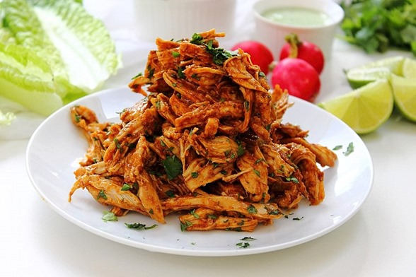 Chipotle Shredded Chicken Lettuce Tacos (21)
