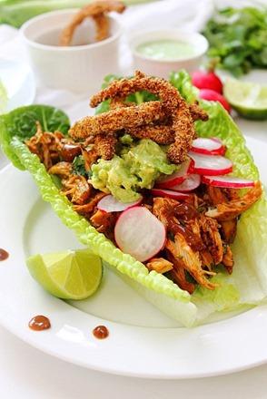 Chipotle Shredded Chicken Lettuce Tacos (31)