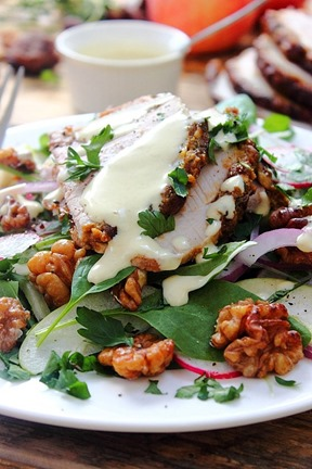 Cold Pork Roast Waldorf Salad (45)