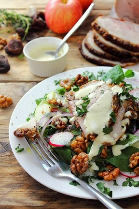 Cold Pork Roast Waldorf Salad (5)