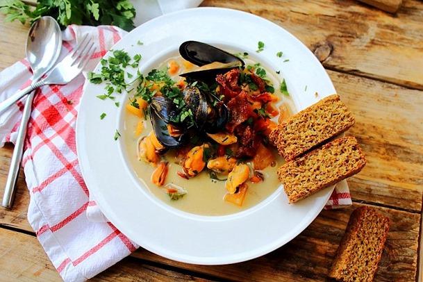 Mussel Pancetta Chowder (23)