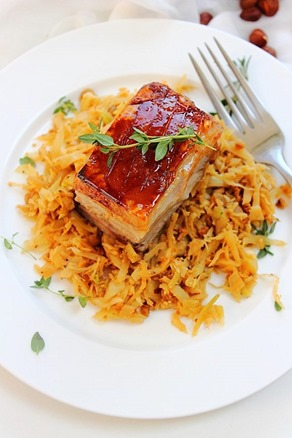Pork Belly Braised Cabbage (15)