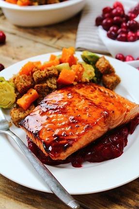 Maple Bourbon Salmon (10)