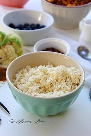 Paleo Porridge (5) Cauliflower Rice