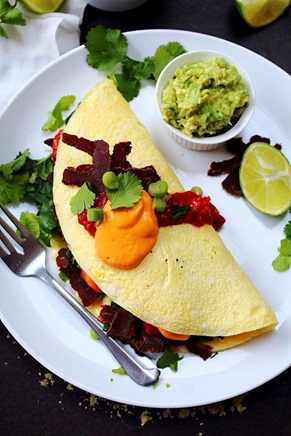 Tex Mex Omelet Queso & Salsa (38)