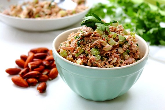 Tuna Almond Salad Paleo (24)