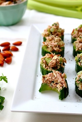 Tuna Almond Salad Paleo (8)