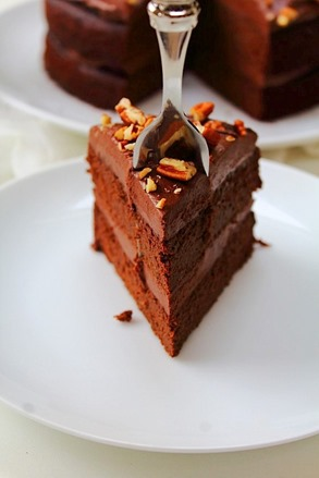 Double Chocolate Fudge Cake (37)