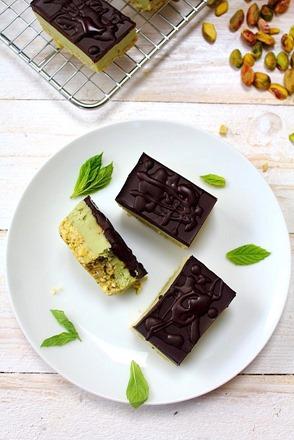 Mint Nanaimo Bars Sugar Free (27)