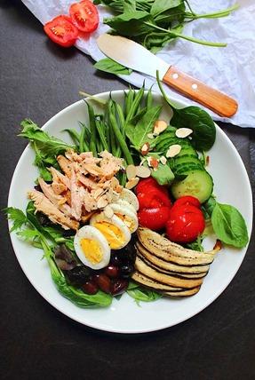 Tuna Salad Cauliflower Bread (6)