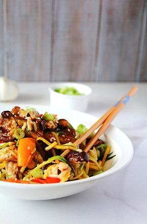 Chicken Chow Mein Paleo (11)