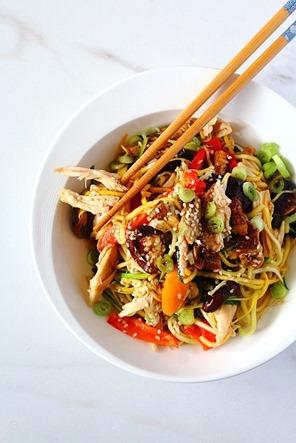 Chicken Chow Mein Paleo (7)