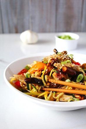 Chicken Chow Mein Paleo (9)