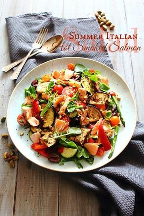 Summer Italian Smoked Salmon Salad (1) title