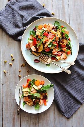 Summer Italian Smoked Salmon Salad (8)