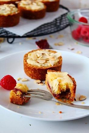 Raspberry Bakewell Tarts (10)