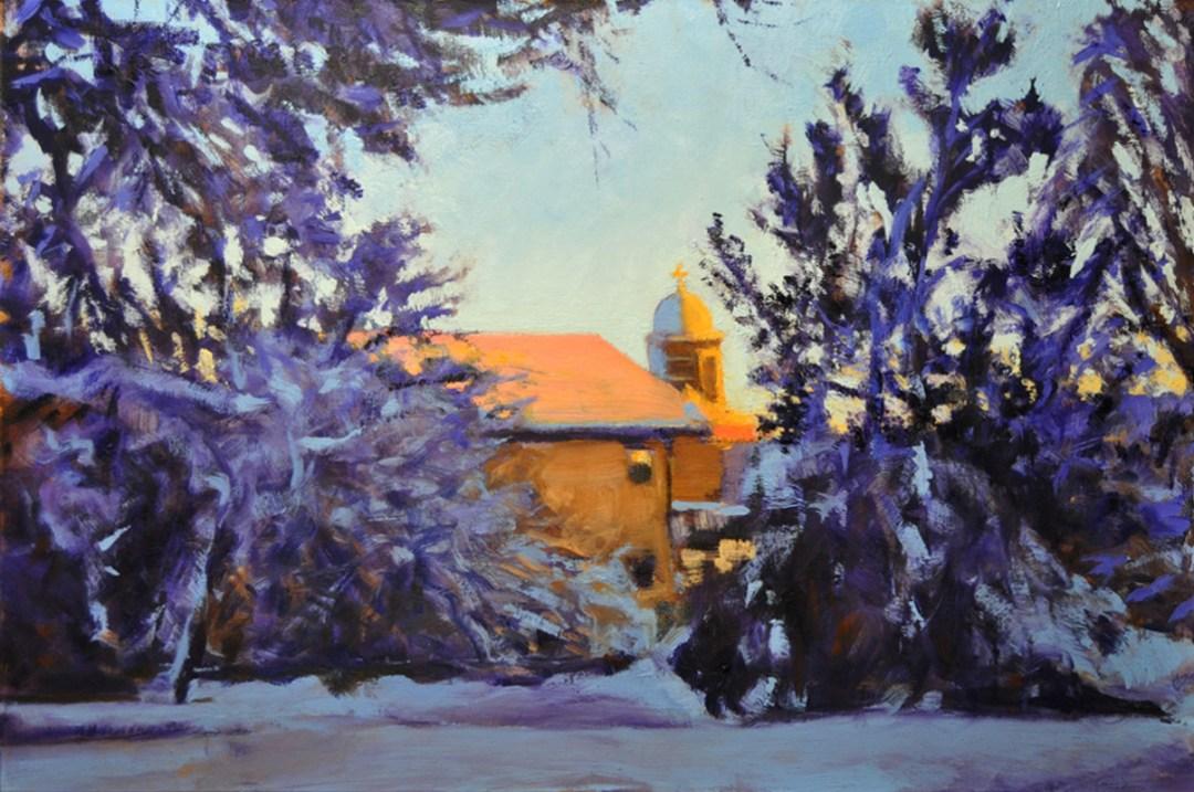 Dennis Gardens, Winter by Mark Patnode