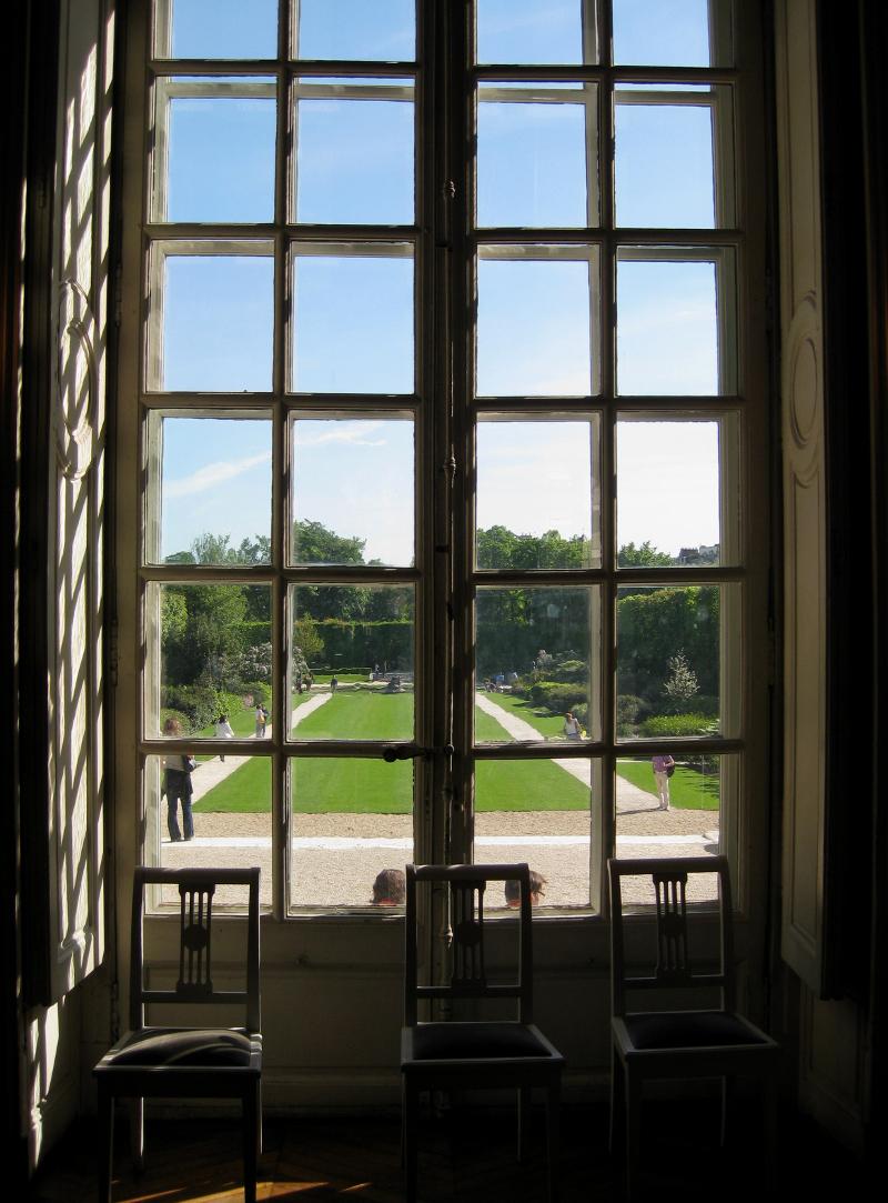 Glimpse Lurkation Three Chairs by Karen Greenbaum-Maya