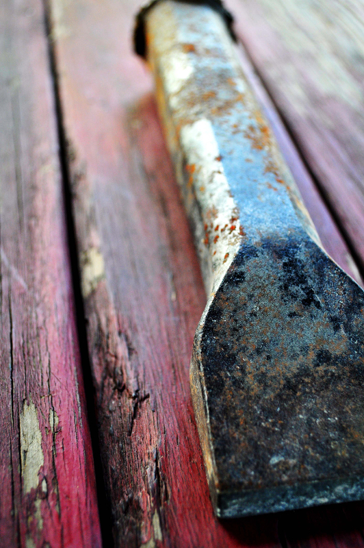 Tools of the Trade: Chisel by Melanie Faith