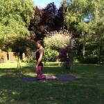 Peacock Tree Yoga backbend sequence