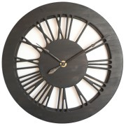 100 cm Roman Numeral Extra Large Wall Clock made of Wood & Hand Painted