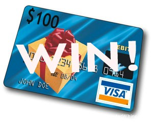 Win $100 Visa Gift Card!!  Ends 2/11/2014