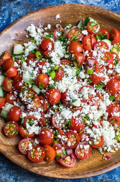 Cherry Tomato Salad - Peas And Crayons