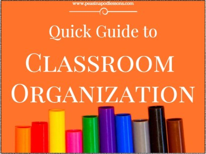 Guide to Classroom Organization