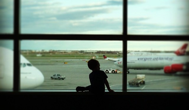 Waiting for a Plane