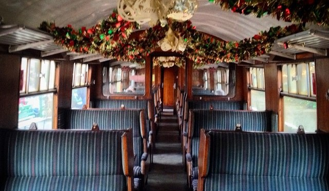 They don't do this on South West Trains for Christmas…