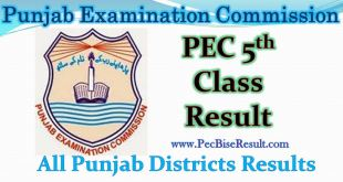 Five Class Result 2017