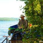 Concours de pêche au Quiver Feeder au lac de Pareloup