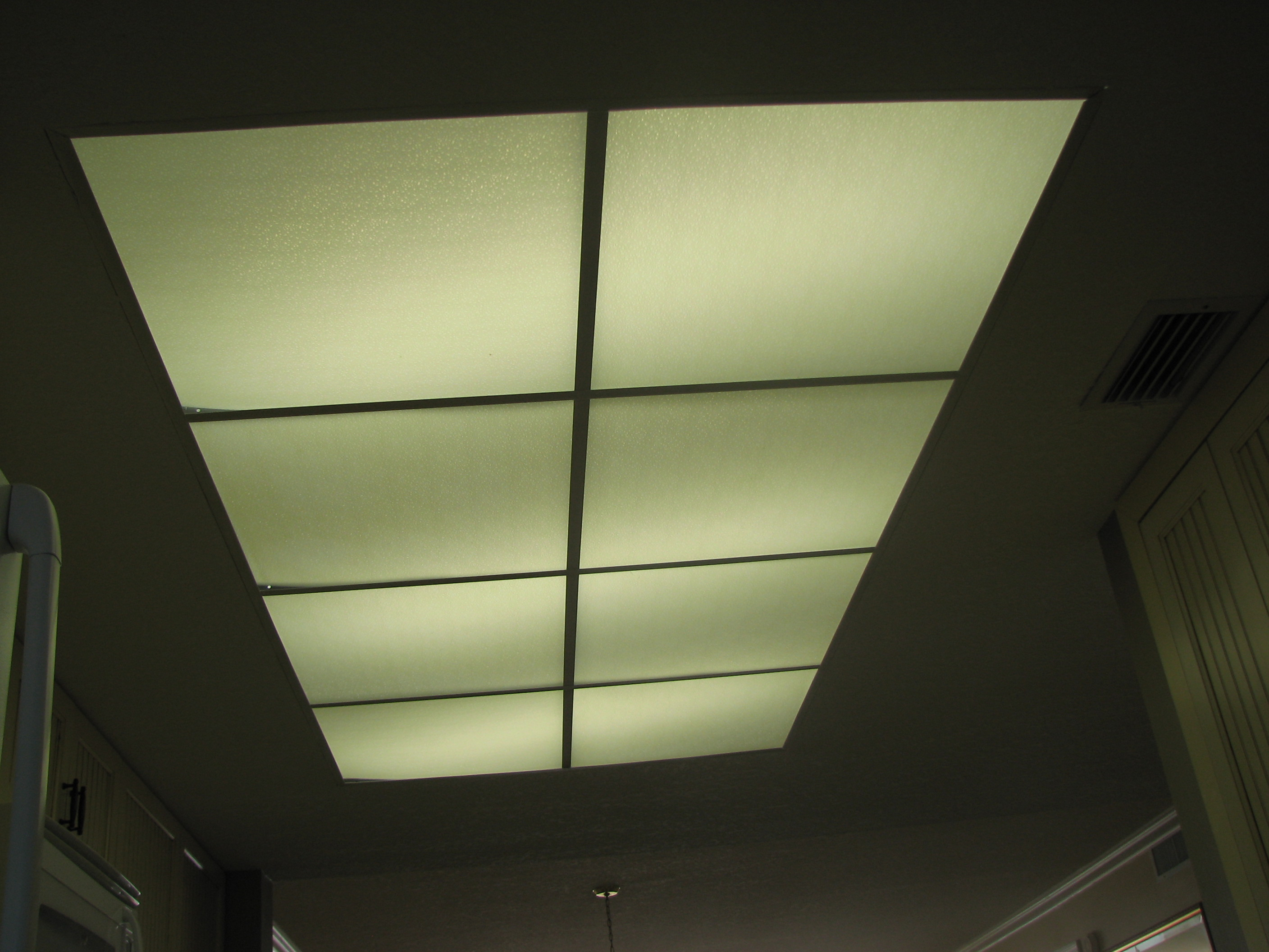 what to do with my old kitchen drop ceiling lighting kitchen light s style kitchen Light Before
